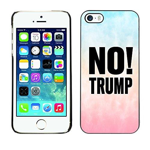 Print Motif Coque de protection Case Cover // Q04100569 Pas de gradient de nuage Trump // Apple iPhone 5 5S 5G