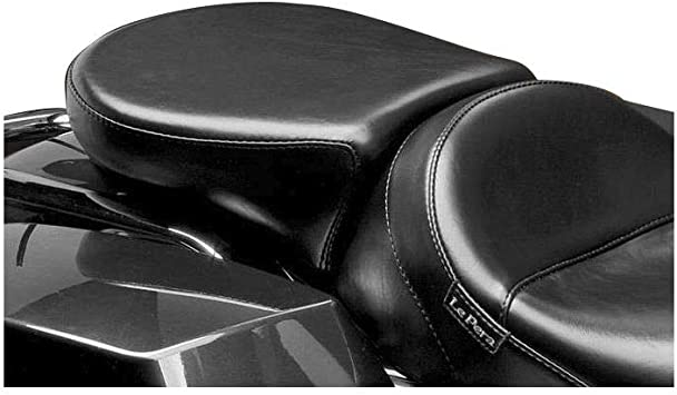 10.75in. 08-16 HARLEY FLHX2 Le Pera Aviator Pillion Pad Black