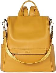 CLUCI Women Backpack Purse Fashion Leather Large Travel Bag Ladies Shoulder Bags