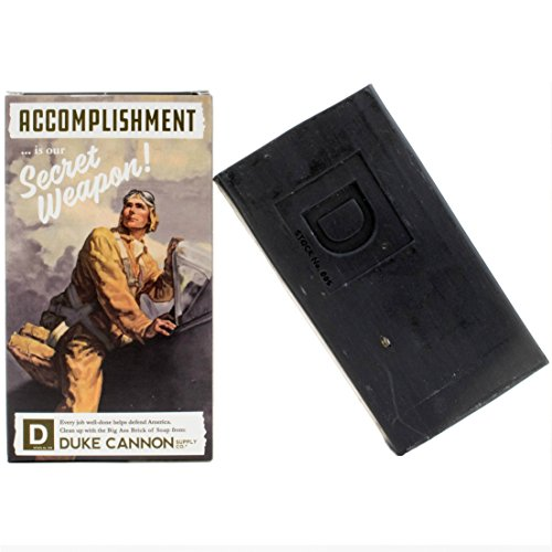 - Duke Cannon WWII Era Big Brick of Soap for Men - Accomplishment, 10oz. Limited Edition
