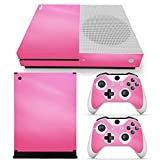 xbox one controller cover pink - Gam3Gear Vinyl Decal Protective Skin Cover Sticker for Xbox One S Console & Controller - Pink