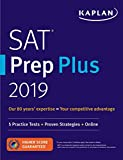 img - for SAT Prep Plus 2019: 5 Practice Tests + Proven Strategies + Online (Kaplan Test Prep) book / textbook / text book