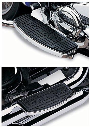Honda Aero Floorboards (Cobra Boulevard Front Driver & Passenger Floorboards Kit - Honda VT750C2 Shadow Aero/Spirit/Phantom _06-1618|06-3611)