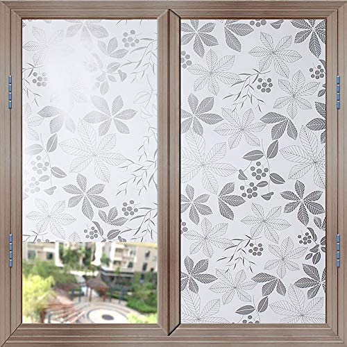 Brewster PF0716 Dogwood Premium Privacy Film Door