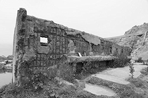 (Vintography 8 x 12 Black and White Photo of The Sutro Baths, San Francisco, California 2012 Highsmith 84a)
