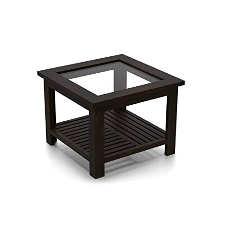 Urban Ladder Claire Compact Coffee Table  Mahogany Finish