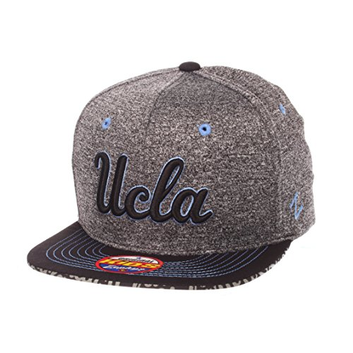 Ucla Bruins Ncaa Pattern - ZHATS NCAA UCLA Bruins Children Boys Prodigy Youth Snapback Hat, Youth Adjustable, Gray/Team Color