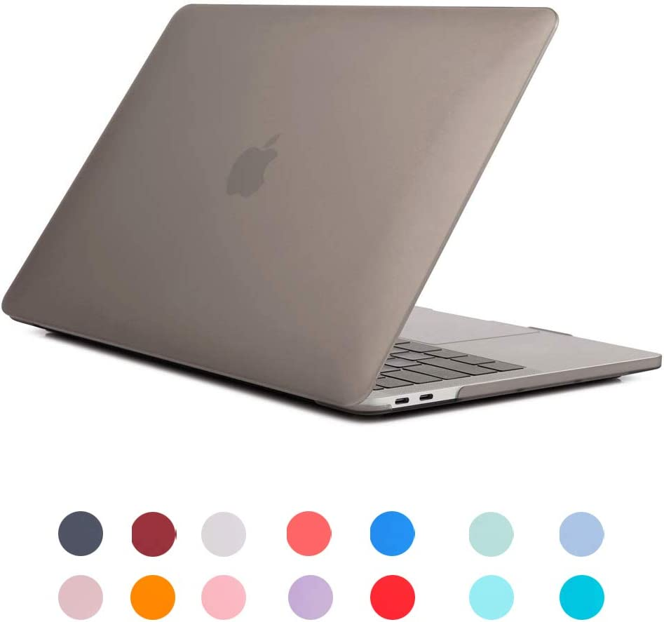 ROSHING for MacBook Pro 16 Inch Case 2019 Release Hard Case Shell Cover Compatible with Macbook Pro 16 Inch with//without Touch Bar and Touch ID Blue