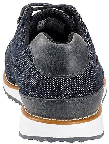 VAUDE Women's Ubn Solna Denim, Zapatos de Low Rise Senderismo para Mujer Azul (Jeans)