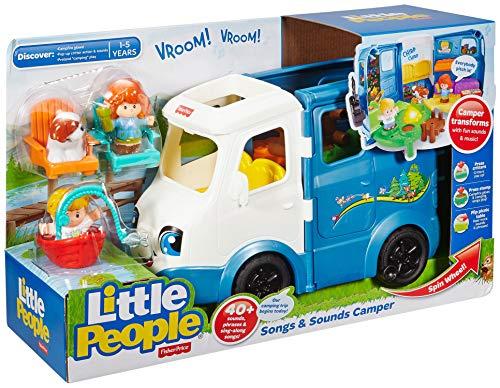 510Z1d4zBTL - Fisher-Price Little People Songs & Sounds Camper