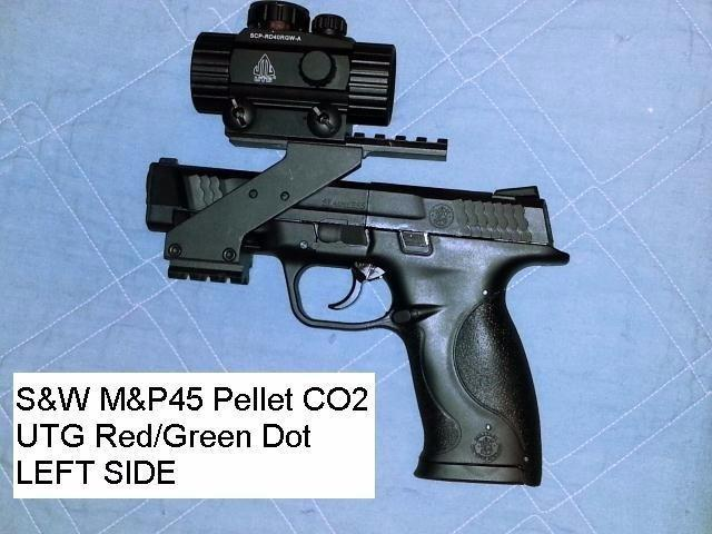 S&W M&P 45 .177 Caliber BB/Pellet Airgun Pistol Good, But,There's lots of room for improvement
