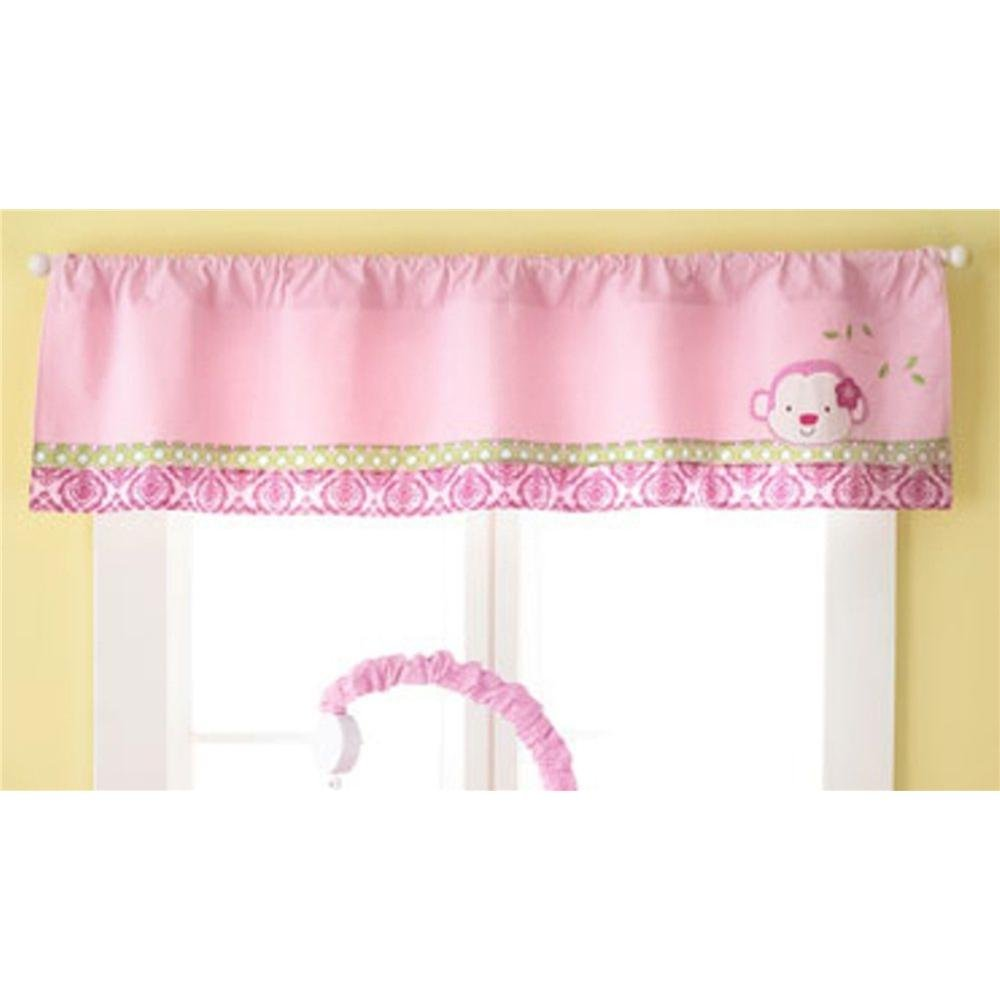 1 X Jenny McCarthy Too Good Baby 'Jungle Darlings' Window Valance by Pem America