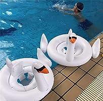 GBD Flotador para Bebé con Asiento, Cisne Blanco Flotadores para ...