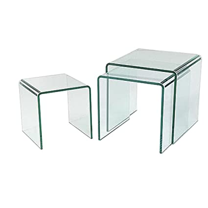 Glass Coffee Table Nest 1