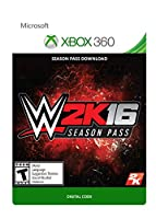 WWE 2K16 Season Pass - Xbox 360 Digital Code