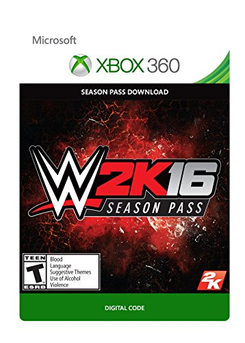 WWE 2K16 Season Pass - Xbox 360 Digital Code by 2K Games
