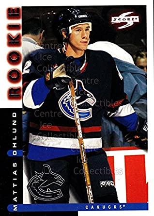 Amazon.com  (CI) Mattias Ohlund Hockey Card 1997-98 Score Vancouver ... 1a66c17b5