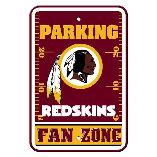 Fremont Die NFL Washington Redskins Plastic Parking (Washington Redskins Parking Sign)