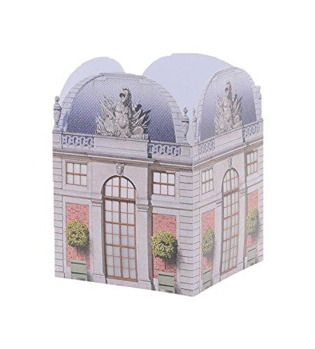 "Architectural Watercolors Table Lantern, The Gatehouse, 6"" x"