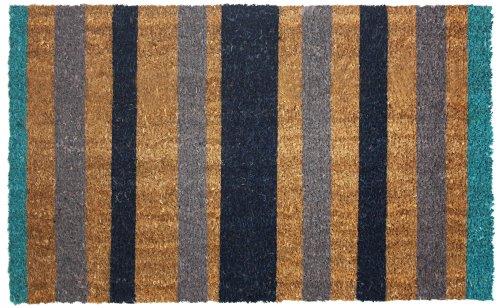 Natural Non Slip Outdoor Doormat Waterproof Blue product image