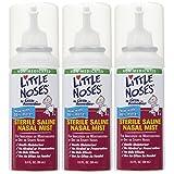 Little Remedies Little Noses Saline Mist, 2 Ounce, Pack of 3