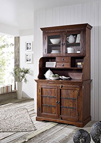de kolonialstil buffet akazie massiv mobel oxford 510