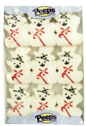 Peeps Marshmallow Snowmen - Christmas Snowman - Pack of 3]()