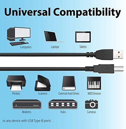 BigNewPowered 3.3FT USB PC Cable PC Laptop Cord for Steinberg UR44 UR-44 4x6 USB Audio Recording Interface