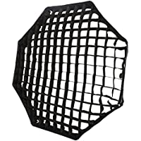 Godox Portable Octagon 120cm / 47 Only Grid Umbrella Photo Softbox Reflector for Flash Speedlight Only Grid