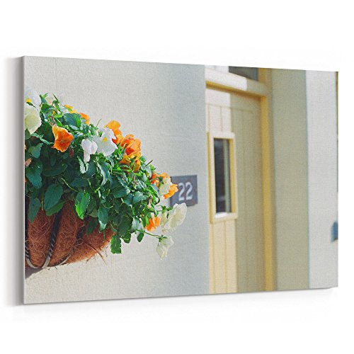 Ind Plant Food (Westlake Art - Quaint Door - 12x18 Canvas Print Wall Art - Canvas Stretched Gallery Wrap Modern Picture Photography Artwork - Ready to Hang 12x18 Inch (1ED8-C837B))