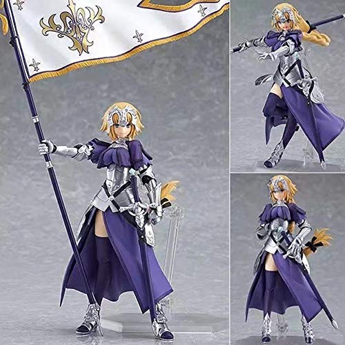 Raleighsee Fate/Grand Order Anime Series Ruler Joan of Arc Movable Statue PVC Figure / Vinyl Figure / Action Figure / Collectible Anime Fans Gift
