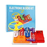 Liyic 58 DIY Circuits for Kids,Kids Circuits,Kids Circuit Kit,Science Experiments for Kids,Science Experiments
