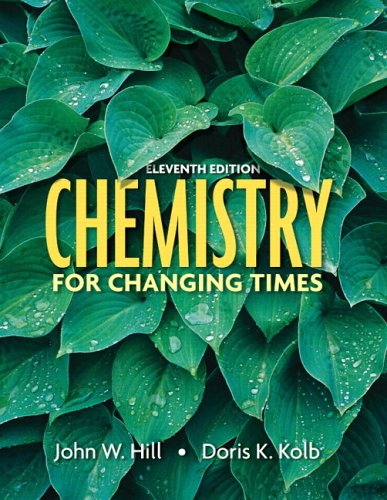 Chemistry for Changing Times, 11th Edition