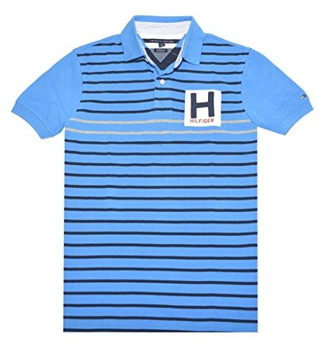 Tommy Hilfiger Men Custom Fit Stripe Polo Shirt