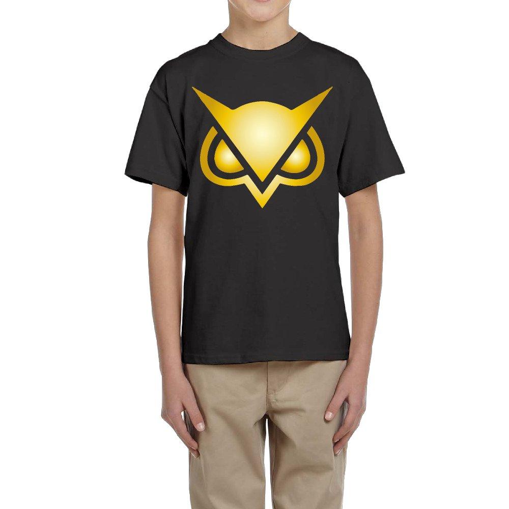 Boy's Youtube Vanoss Gaming Owl Logo Short Sleeve Tee LARALARA