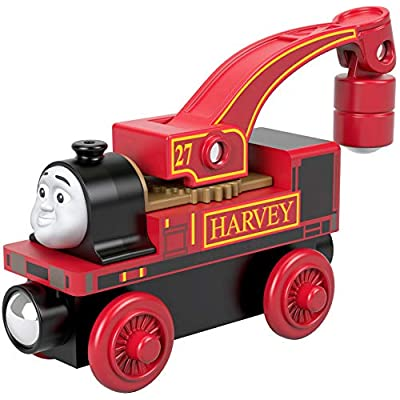 Thomas & Friends Fisher-Price Wood, Harvey: Toys & Games