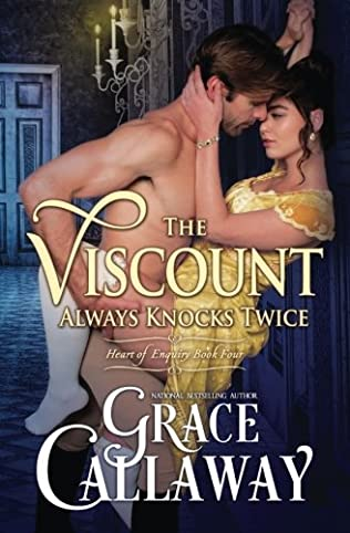 book cover of The Viscount Always Knocks Twice
