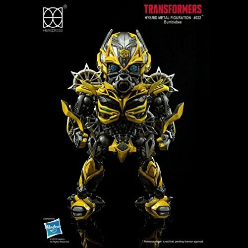 HEROCROSS Hybrid Metal Figuration 022 Transformers Age of Extinction Bumblebee Diecast Action (Transformers Age Of Extinction Bumblebee Toy)