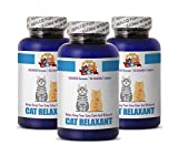 PETS HEALTH SOLUTION cat relaxing pills - RELAXANT FOR CATS - HELPS KEEP CALM - ANXIETY RELIEF - TREATS - cat anxiety supplement - 270 Treats (3 Bottle)