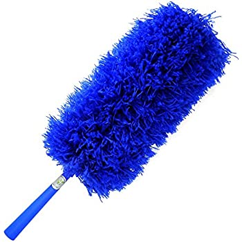CleansGreen Microfiber Feather Duster: Extendable with your Extension Pole for Dusting and Cleaning | No Refills Required
