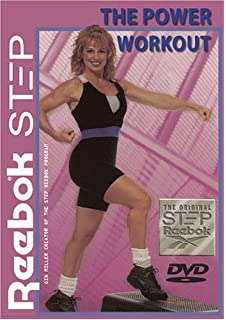 reebok step workout video
