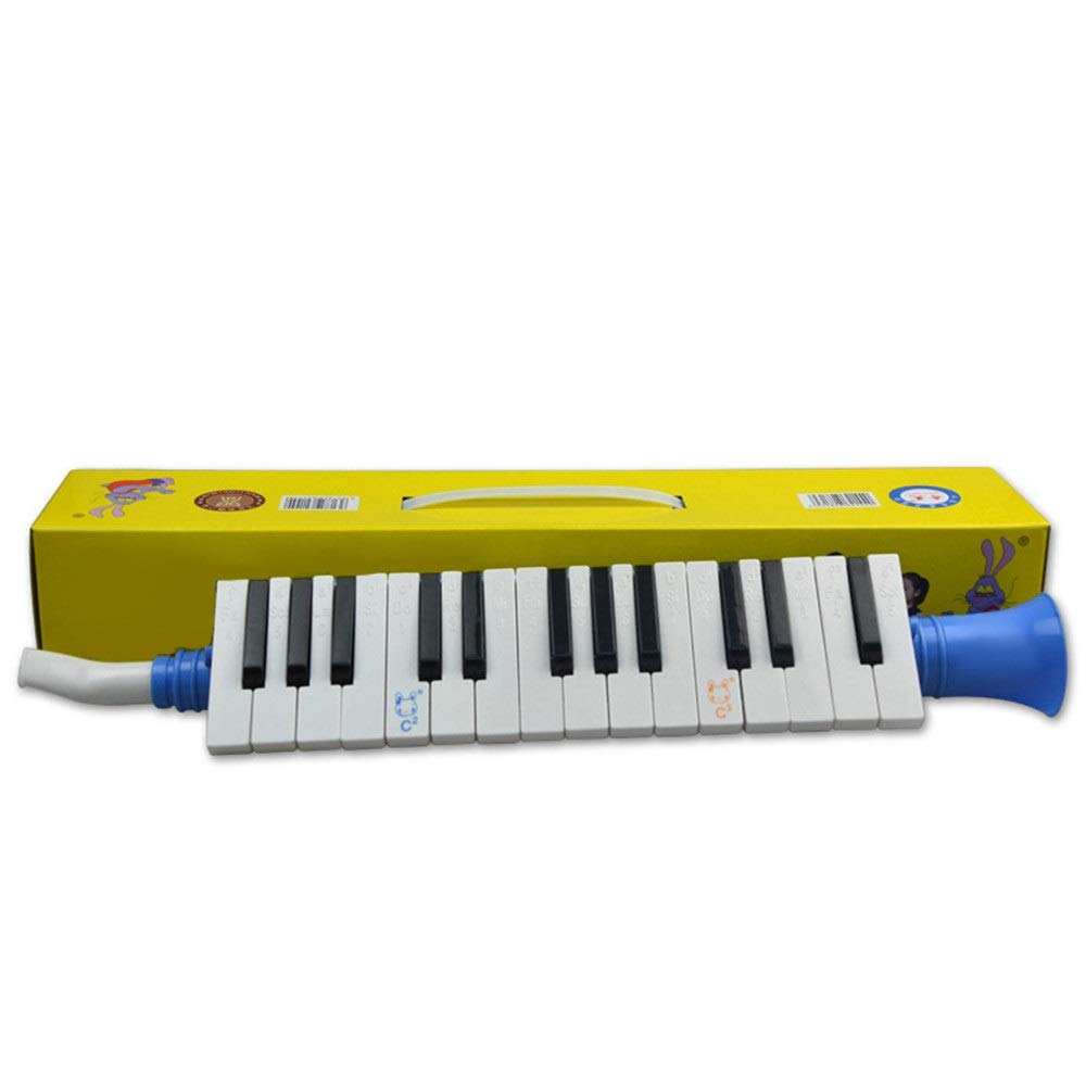 Melodica Musical Instrument Portable 27 Keys Kids Toy Melodica Instrument Piano Style With Carrying Box Keyboard Wind Instrument With Mouthpieces Musical Gift Toys For Kids Beginners Students For Musi by Kindlov-mus (Image #2)