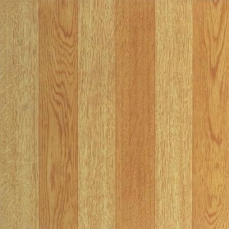 100 Pieces Fingers Dark Oak Vinyl Floor Tiles Self Stick Peek Flooring 12 x 12 5-Pack