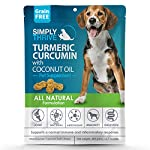 Turmeric Curcumin Supplement for Dogs | 90 ct Soft Chew Treats | Helps With Mobility Hip Joint & Arthritis | Coconut Oil Aids Digestion and Immunity | Natural Source of Antioxidant, Antiinflammatory 11