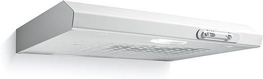 Candy CFT 610 2S - Campana (Canalizado, 160 m³/h, 66 Db, Semi built-in (pull out), Halógeno, Gris): Amazon.es: Hogar