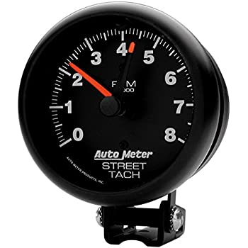amazon com auto meter 2894 performance street tachometer automotiveauto meter 2894 performance street tachometer