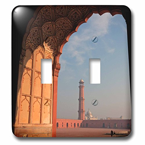 Danita Delimont - Mosques - View from the arch of Badshahi Masjid, Lahore, Pakistan. - Light Switch Covers - double toggle switch - Pictures Pakistan Lahore