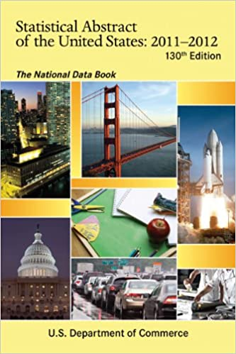 Téléchargeur d'ebook gratuit google Statistical Abstract of the United States, 2011-2012: The National Data Book (130th Edition) (Statistical Abstract United States (Paper/Skyhorse)) PDF