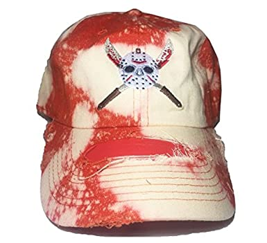 Image Unavailable. Image not available for. Color  Friday the 13th Jason Dad  Cap ... 0d7359350a5