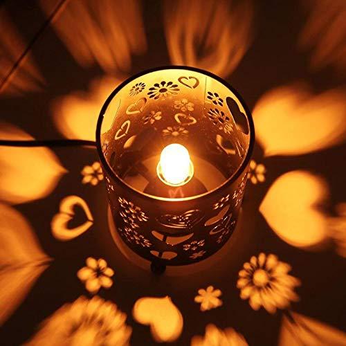 220V E14 LED Bulb Lamp For Crystal Salt Rock Night Lamp Warm White Home Bedroom Decoration Light Lamp